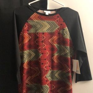 Lularoe Randy - S with arrows - 3/4 sleeves